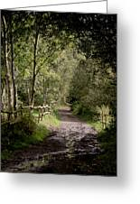 To The End Of September Greeting Card by Odd Jeppesen