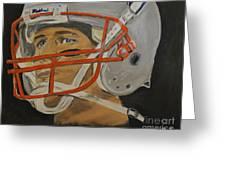 Tom Brady Greeting Card by Steven Dopka