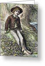 Tom Sawyer, 1876 Greeting Card by Granger