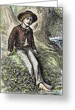 Tom Sawyer, 1876 Greeting Card by Granger