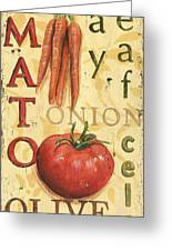 Tomato Soup Greeting Card by Debbie DeWitt