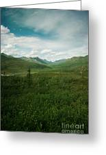 Tombstone Mountain Greeting Card by Priska Wettstein