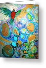 Too Many Eggs Greeting Card by Mary Schiros