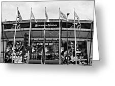 Topless Metrodome  Greeting Card by Susan Stone
