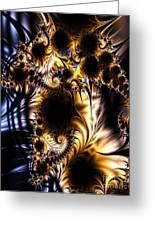 Torn Apart Greeting Card by Ron Bissett