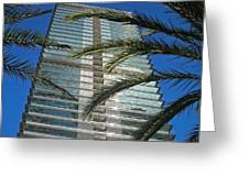 Torre Mapfre - Barcelona Greeting Card by Juergen Weiss