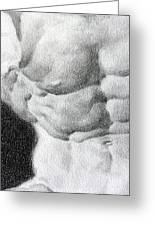 Torso 1b Greeting Card by Valeriy Mavlo