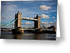 Tower Bridge Greeting Card by Steven Gray