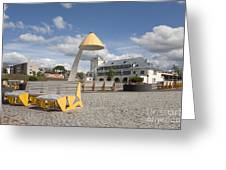 Town Square In Rakvere Greeting Card by Jaak Nilson