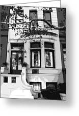 Townhouse Bw8 Greeting Card by Scott Kelley