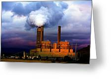 Toxic Beauty Greeting Card by Wendy White
