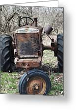Tractor-1 Greeting Card by Todd Sherlock
