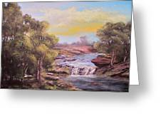 Tranquil Place Greeting Card by Michael Mrozik