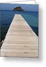 Tranquility  Greeting Card by Lainie Wrightson