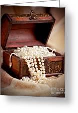 Treasure Chest Greeting Card by Gabriela Insuratelu