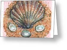 Treasure Of The Sea Greeting Card by Sabrina Khan