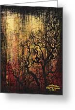 Tree Greeting Card by Arleana Holtzmann