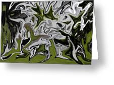 Tree Dance Greeting Card by Julian Bralley