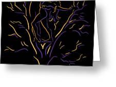 Tree Dancers Greeting Card by Shane Robinson