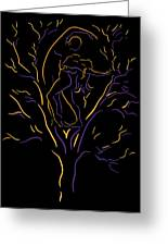 Tree Dancers Greeting Card by Shane Robinson