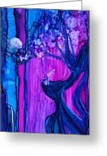 Tree Fairy Greeting Card by Joyce Auteri