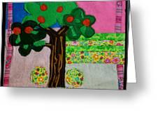 Tree Greeting Card by Ghazel Rashid