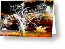 tree Greeting Card by Ilias Athanasopoulos
