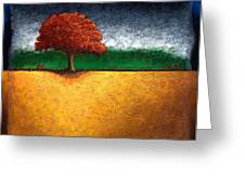 Tree Of Life Greeting Card by Mauro Celotti