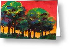 Trees 2 Greeting Card by Faith Frykman