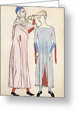 Trepanation, 14th Century Artwork Greeting Card by Sheila Terry