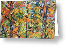 Tropical Forest 2 Greeting Card by Koro Arandia