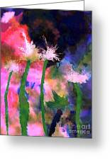 Tropical Storm Greeting Card by Mimo Krouzian