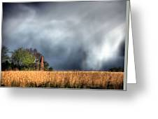 Trouble Brewing  Greeting Card by JC Findley
