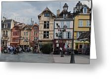 Troyes France Greeting Card by Marilyn Dunlap