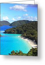Trunk Bay View Greeting Card by Roupen  Baker