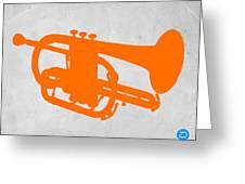 Tuba  Greeting Card by Naxart Studio