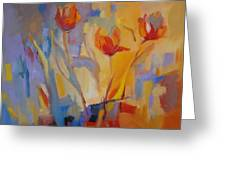 Tulip Song Greeting Card by Marty Husted
