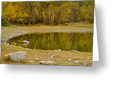 Tunnel Pond Greeting Card by Idaho Scenic Images Linda Lantzy