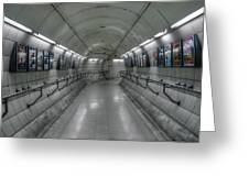 Tunnel Greeting Card by Svetlana Sewell