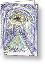Tunnel Vision A Pun  Aceo Greeting Card by Regina Valluzzi