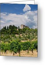 Tuscany Villa In Tuscany Italy Greeting Card by Ulrich Schade