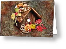 Tweet Little Bird House Greeting Card by Andee Design