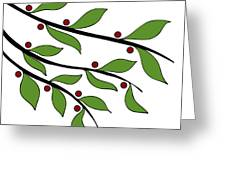 Twigs Greeting Card by Frank Tschakert