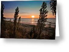 Twilight Desolation Greeting Card by Jason Naudi Photography