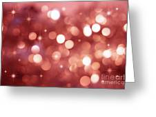Twinkle Little Stars Greeting Card by Sandra Cunningham