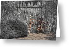 Two Wheels Greeting Card by Scott Norris