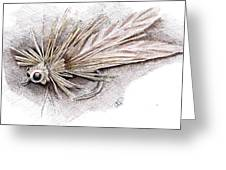 Ugly Bug Greeting Card by H C Denney