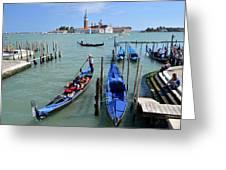 Un Altro Giorno A Venezia Greeting Card by Martina Fagan