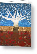 Un Rooted Leaving All Greeting Card by Claudia French