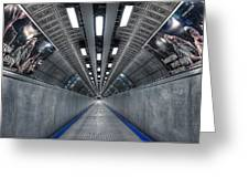 Underground 04 Greeting Card by Svetlana Sewell